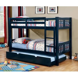 Victory Twin Over Twin Bunk Bed with Trundle