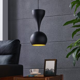 Orren Ellis Butte 1-Light Dome Pendant