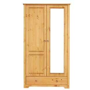 Limnitis 2 Door Wardrobe By August Grove