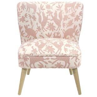 Mistana Iyana Wallflower Polyester/Cotton Side Chair