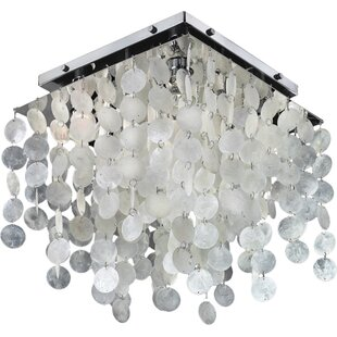 Glow Lighting Tanya 4-Light Flush Mount