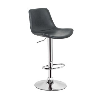 Gretna Adjustable Height Swivel Bar Stool