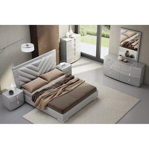 Leather Bedroom Sets You\'ll Love | Wayfair