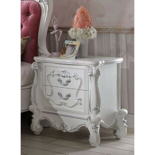 Sultan 2 Drawer Nightstand by Astoria Grand