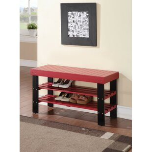 Read Reviews Kinkead Rectangular Wood Storage Bench By Winston Porter