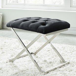 Mercer41 Heeter Upholstered Bench