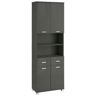 Abby 60 X 180cm Free-standing Cabinet By Belfry Bathroom