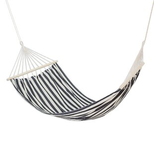 Bernon Zebra Stripes Cotton Tree Hammock
