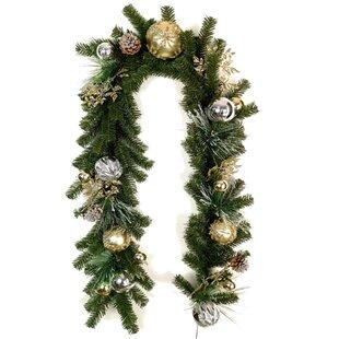 christmas ornaments ball garland