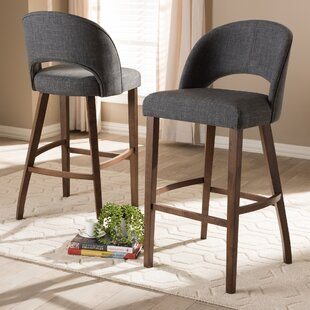 Vanbrugh 30.5 Bar Stool (Set Of 2) by Gracie Oaks New