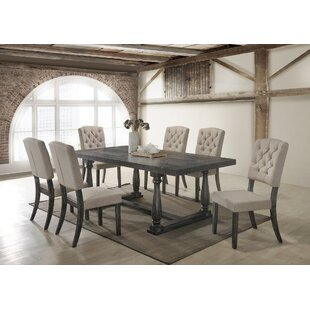 Gertrudes 7 Piece Dining Set One Allium Way