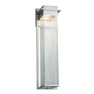 Brayden Studio Luzerne LED Outdoor Sconce