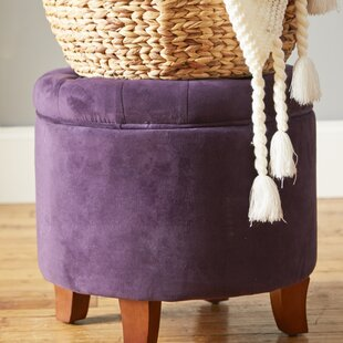 Fabulous Poteau Tufted Storage Ottoman Creativecarmelina Interior Chair Design Creativecarmelinacom