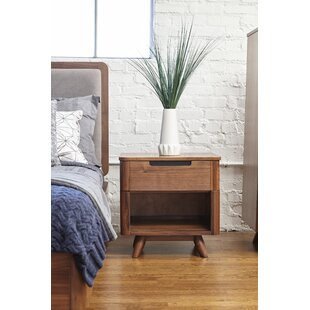 Cottle 1 Drawer Nightstand by Corrigan Studio