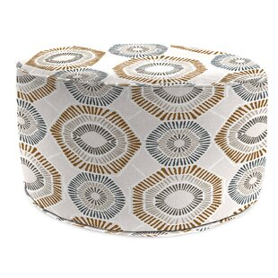 Isiah Bead Fill Pouf Ottoman with Cushion by Bloomsbury Market