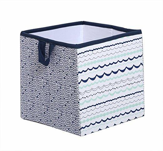 Noah Tribal Fabric Storage Cube And Bin