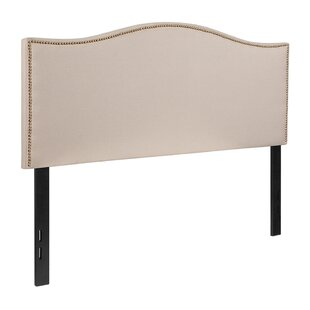 Million Fabric Upholstered Panel Headboard by House of Hampton
