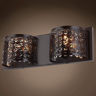 Hodder 2-Light Flush Mount by Mercer41