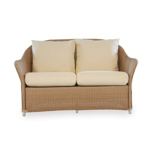 Lloyd Flanders Weekend Retreat Loveseat with Cushions