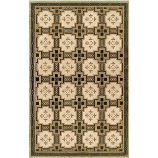 Compare & Buy Neo Nepal Empire Gold/Black Area Rug ByAmerican Home Rug Co.