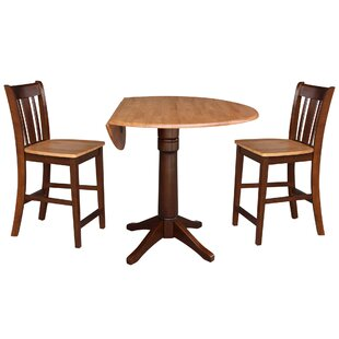 Attridge 3 Piece Pub Table Set