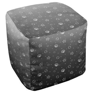 Avicia Seashell Pouf by Latitude Run