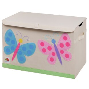 Check Prices Olive Kids Butterflies Toy Box ByWildkin