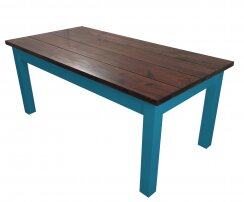 Charleston Solid Wood Dining Table Ezekiel and Stearns