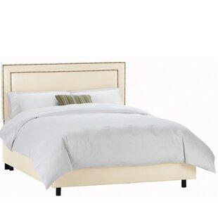 Shopping for Olivia Upholstered Panel Bed ByWayfair Custom Upholstery™