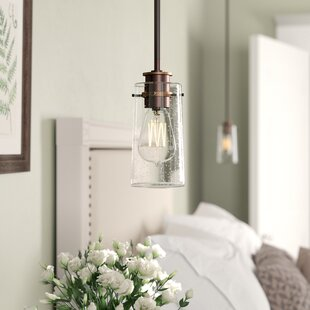 Gualtiero 1-Light Cylinder Pendant by Birch Lane? Heritage
