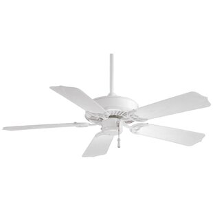 Buy clear 42 Sundance 5-Blade Indoor / Outdoor Ceiling Fan By Minka Aire