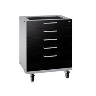 Performance Plus 2.0 Diamond Plate Series Tool Drawer 37.25 H x 28 W x 22 D Storage Cabinet by NewAge Products