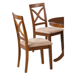 Samaniego Soft Padded Solid Wood Dining Chair (Set of 2)