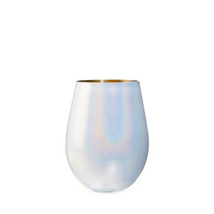 Mystic 16 Oz. Stainless Steel Stemless Wine Glass by Blush Find