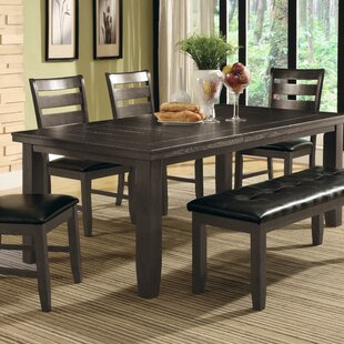 Severus Extendable Solid Wood Dining Table Winston Porter
