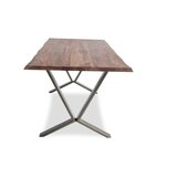 Puckett Edge Solid Wood Dining Table by Williston Forge
