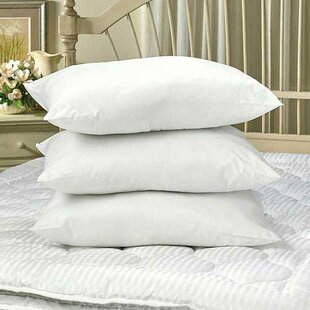 Medium Polyester/Polyfill Standard Bed Pillow (Set of 3)