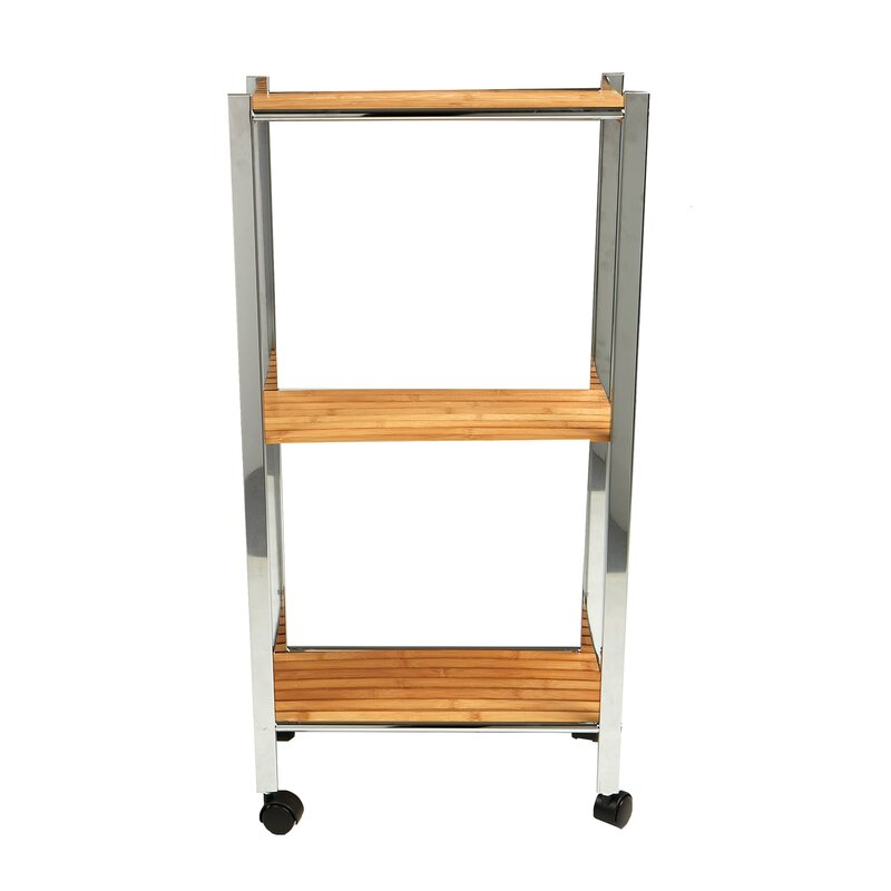Merveilleux 3 Tier Slim Eco Friendly Bamboo Kitchen Cart