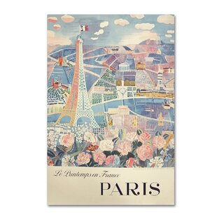 Attirant U0027Printemps Parisu0027 Wall Art On Wrapped Canvas