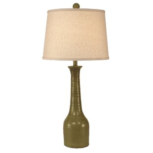 Middlebury Slender Neck Textured Pottery 30 Table Lamp