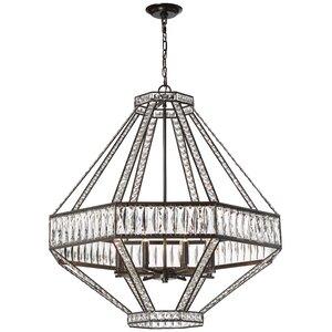 Sheryll 8-Light Crystal Chandelier