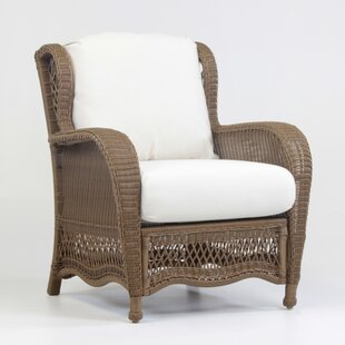 Riviera Deep Seating Chair With Cushion by South Sea Rattan Looking for