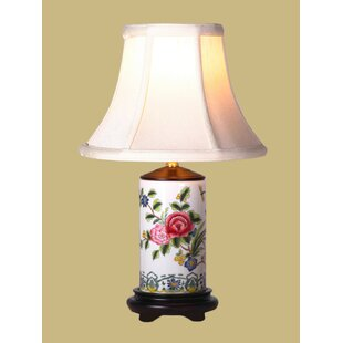 Floral Pencil 19 Table Lamp