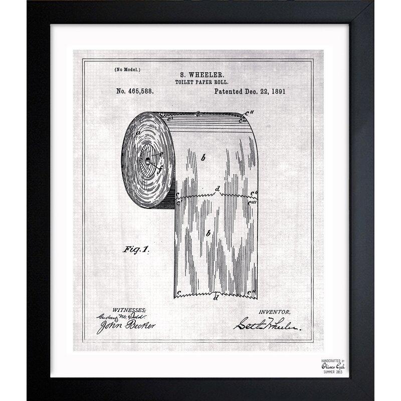 Toilet Paper Roll 1891 Art