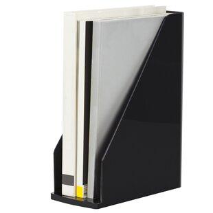 Storex Modern Gloss Magazine File (Set of 4)