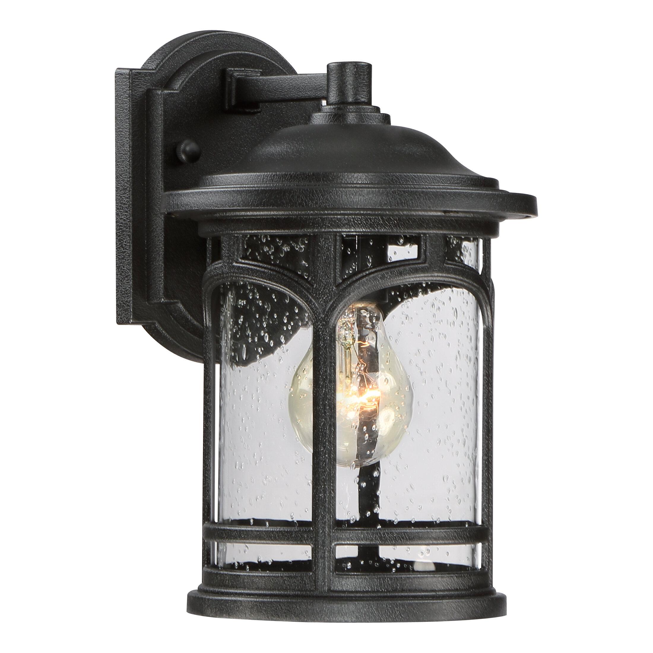 Longshore Tides Sheppard 1 Light Outdoor Wall Lantern Reviews Wayfair