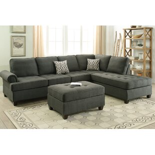 Winston Porter Brylee Reversible Sectional