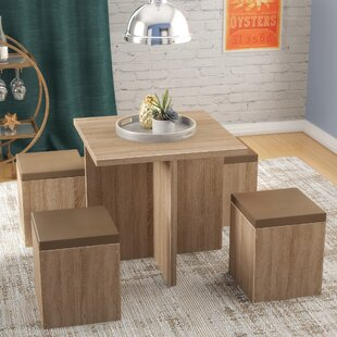 Badillo 5 Piece Dining Set Ivy Bronx