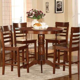 Charming Millett 5 Piece Counter Height Dining Set