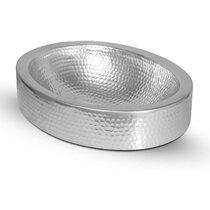 Hammered Silver Sink Wayfair